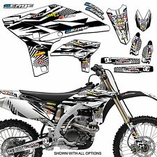 Mayhem Black Graphics Kit Senge Graphics 2013-2015 KTM SXF Graphic Kits