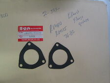 Suzuki RM100,RM125 1976-82  Exhaust holder gasket 14181-40200 / 41300 set of 2