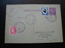 FRANCE - carte entier 29/9/1946  (cy13) french
