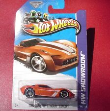 ORANGE 2009 Corvette Stingray Concept. HW Showroom. 209/250 New in Blister Pack!