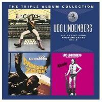 UDO LINDENBERG -THE TRIPLE ALBUM COLLECTION (SISTER KING KONG/KEULE/+) 3 CD NEU