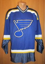 ST. LOUIS BLUES 2000s ICE HOCKEY JERSEY SHIRT PRO PLAYER VINTAGE VTG NHL SIZE L