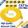 1-30M Premium External Network Ethernet Cable CAT5e 100% Copper RJ45 1000 Mbps