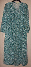 EXCELLENT WOMENS Anthony Richards FLANNEL NIGHTGOWN / DUSTER / ROBE   SIZE S