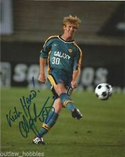 Los Angeles Galaxy Alexi Lalas Autographed Signed 8x10 Photo COA