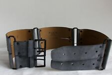 Alaia suede belt Made in Italy