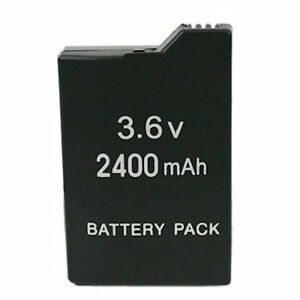 2400mAh Rechargeable Replacement Battery for Sony Game PSP Slim 2000 2001 2006
