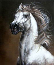 ZOPT108 high quality 100% hand painted animal horse ART OIL PAINTING ON CANVAS