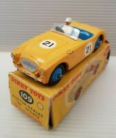 Vintage Dinky Toys 109 Austin Healey 100 Sports in vg condition in Original box