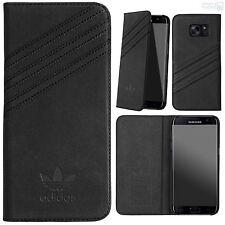 """adidas Book Case Samsung S7 edge 5,5"""" G935 Hard Cover Handy Schutz Hülle Tasche"""