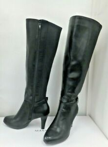 Alfani Wide Calf  Avennuss Black RWWC Women's Ridding Dress Boot in a Box