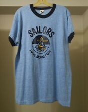 Vintage Russell Athletics 1970s T Sailors Have More Fun  Unworn  Made in USA