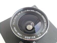 Fujinon (Fuji) SW S 90mm / f8.0 lens, Seiko Shutter, TOYO lensboard