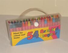 ART 54 Kids Bambino Bambini Cera Pastelli Assortiti colori matita Set Scuola Case