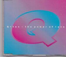 Q TEx-The Power Of Love cd maxi single 5 tracks