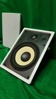 Monster INVISISOUND In Wall Speakers IS-40WM New with out box