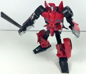 Transformers Robots In Disguise SIDESWIPE Complete Warrior Rid 2015