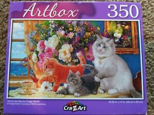 New 350 Piece Jigsaw Puzzle (Tea by the Sea)