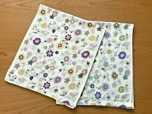 2pcs 100% Cotton Face Towels Famous Japanese Imabari  Towels