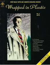 TWIN PEAKS WRAPPED IN PLASTIC # 2  VERY GOOD CONDITION