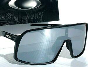 NEW* Oakley SUTRO Black Matte POLARIZED Galaxy Chrome Mirror Sunglass 9406