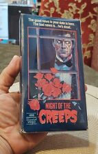 Night Of The Creeps VHS Horror HBO Cannon Video Rare