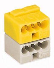 WAGO Busankoppler-Klemme lichtgrau gelb verr. 243-212        50 Stück