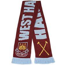 Ufficiale West Ham United Football Club FC Martelli Calcio Woolly Sciarpa