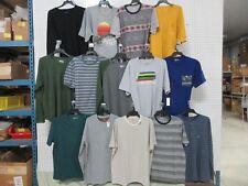 14 MEN CLOTHES T-SHIRT LONG SHORT SLEEVE BASIC EDITIONS DISNEY XL CASUAL APPAREL