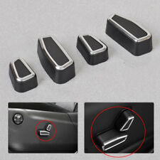 4pcs Front Seat Adjustment Switch Cover For Cherokee Jeep Grand Cherokee 2011-18