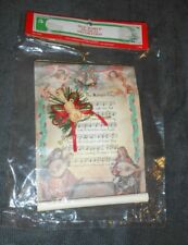 Old World Musical Decoration Holiday Christmas Ornament - Brand NEW in Package