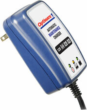 TecMate OptiMate 1 Battery Charger/Maintainer 4-step 12V 0.6A TM401