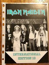Iron Maiden Fan Club Magazine #13