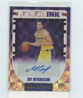 SVI MYKHAILUK 2018-19 Panini NBA Hoops Ink Rookie Auto Autograph RI-SM