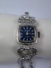 Vintage Damen Armbanduhr / Uhr VEB Uhrenwerk Glashütte 70s Handaufzug - Double