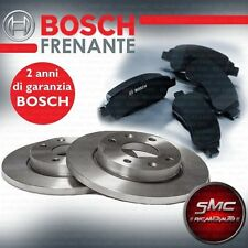 KIT DISCHI + PASTIGLIE FRENO POSTERIORI BOSCH VW GOLF 4 IV 1.9 1900 DIESEL POST