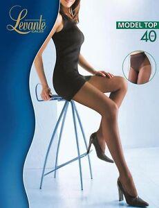 Levante Tights Woman Model top 40 DEN Pantyhose slimming corset