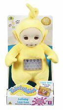 Teletubbies Lullaby Laa-Laa Soft Toy Helps Kids Sleep With Night Light NEW