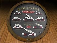 CASE XX 30th Limited Edition 1/250 Mint Set Red Brick Bone Pocket Knives