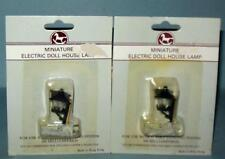 COACH LAMPS 2 PIECES 12 VOLT  DOLLHOUSE FURNITURE & MINIATURES