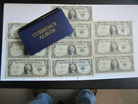 10-1957  $1 One Dollar Silver Certificates All Grades Circulated In Holder!!