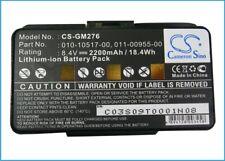 Battery for Garmin GPSMAP 276  GPSMAP 276c  GPSMAP 296  GPSMAP 376C  GPSMAP 378
