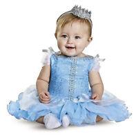 Baby Girl's Cinderella Disney Princess Halloween Cosplay Costume 6 12 18 Months