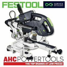 Festool KS60 E-Set GB 240V Kapex Deslizante compuesto Mitre Saw