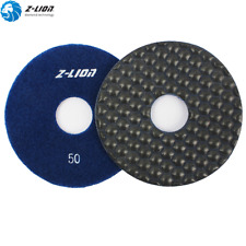 "100Pcs 5"" Premium Diamond Dry Polishing Pads Granite Polishing Concrete Stone 50"