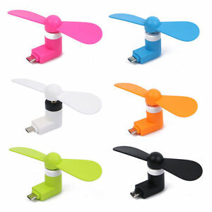Portable Cell Phone Mini Electric Fan Cooling Cooler For iPhone 5/5s/5c/6/6 4.7