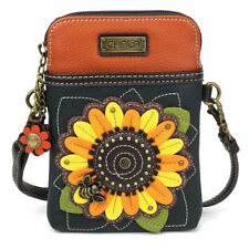 Chala Crossbody Phone Purse for Flower Lovers, Cactus/ Sunflower/ Daisy-New!