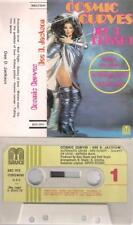 DEE D JACKSON Cosmic curves  SPANISH cassette  PAPER LABEL  SPAIN