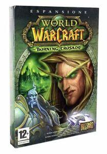 World Warcraft the burning crusade gioco pc game nuovo italiano sigillato