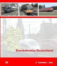 Eisenbahnatlas Deutschland Hardcover